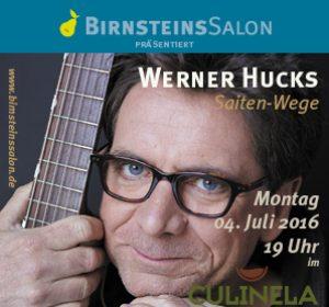 Gitarrist Werner Hucks zu Gast in BirnsteinsSalon