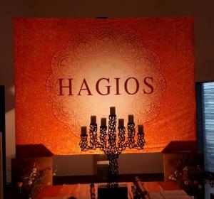 Helge Burggrabe: HAGIOS