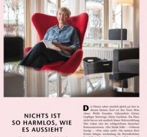 Porträt der Krimi-Bestsellerautorin Inge Löhnig